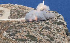 Deutsche und Amerikaner üben den scharfen Schuss auf Kreta