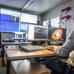 Hier werden im kommenden Jahr die GESTRA-Daten verarbeitet: Die Operationszentrale des Weltraumlagezentrums.