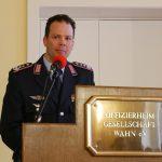 Oberst i.G. Guntsch gab Auskunft über den aktuellen Stand der Drehflüglerflotte der Luftwaffe.