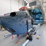 """Vor dem """"scharfen Schuss"""" wird in einem nachgebauten Laderaum des A400M geübt. (Quelle: Luftwaffe/Johannes Heyn)"""
